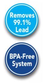 99.1 lead free BPA free drinking water system